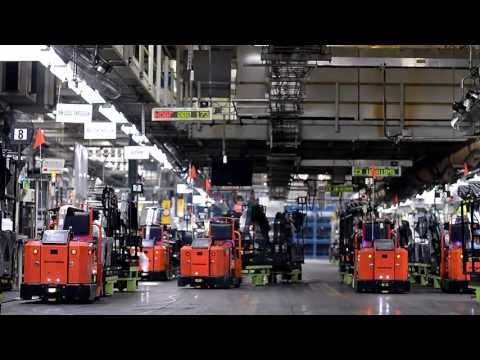 Toyota's Automated Guided Vehicles (AGVs)
