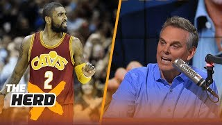 Is Derrick Rose enough to get LeBron and the Cavs to the Finals if Kyrie Irving leaves? | THE HERD thumbnail