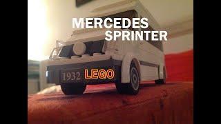 mERCEDES SPRINTER ИЗ LEGO