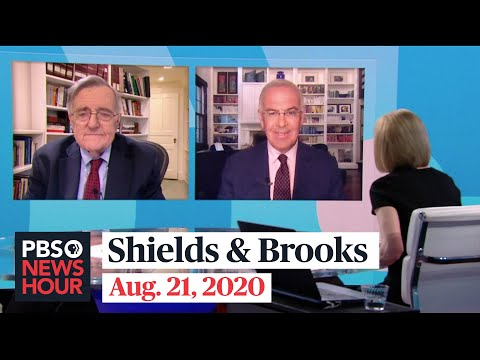 Shields and Brooks on Biden's DNC performance, Trump's RNC approach