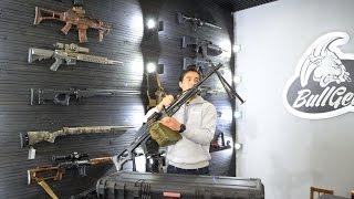 Обзор страйкбольного пулемета Печенег Airsoft Pecheneg LMG