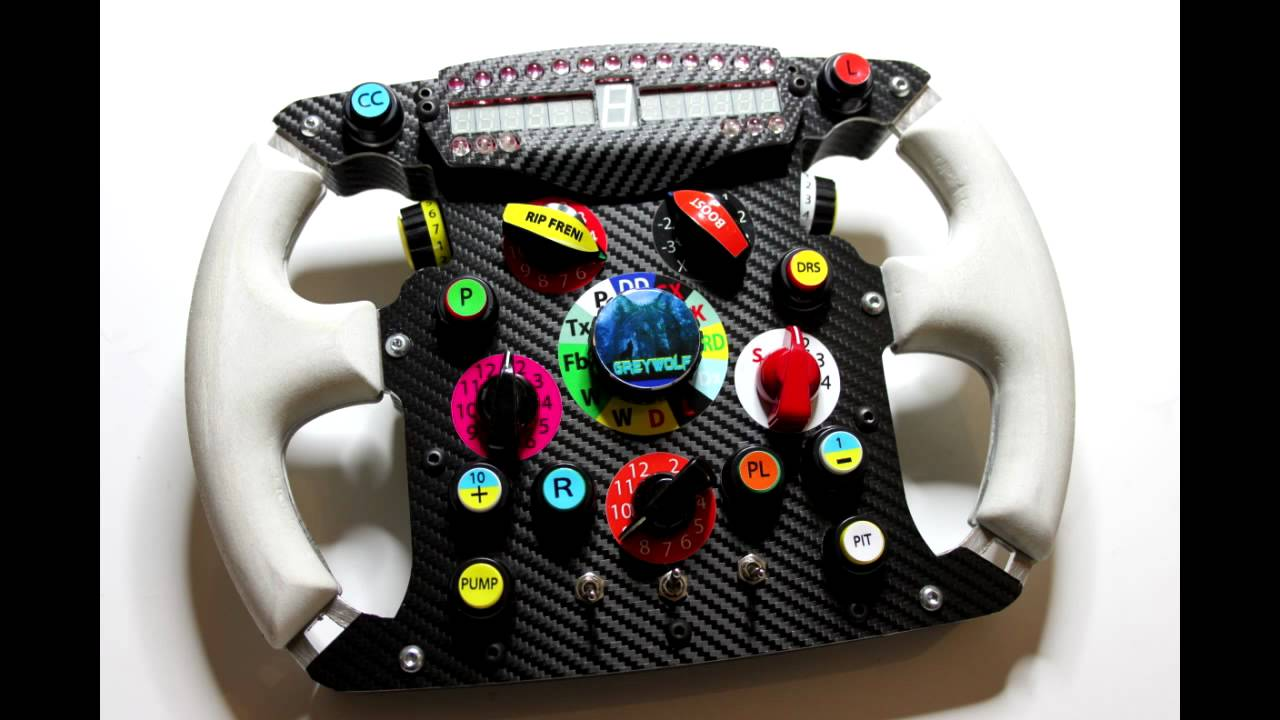 f150 steering wheel greywolf replica - youtube