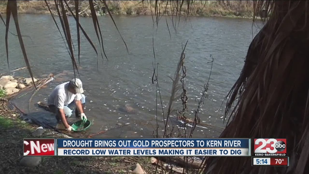 Drought brings out gold prospectors to Kern River