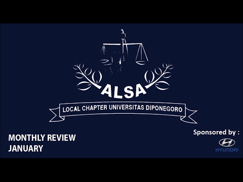ALSA LC Undip Monthly Review : January
