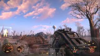 Fallout 4 Space Ship fly over Easter Egg