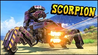 Crossout - HUGE EPIC SCORPION & Other Community Creations (Crossout Gameplay)