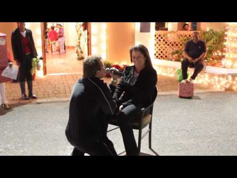 Bob Kauffman Proposes To Heather Turini At Santa Parade In St George's Bermuda December 3 2011