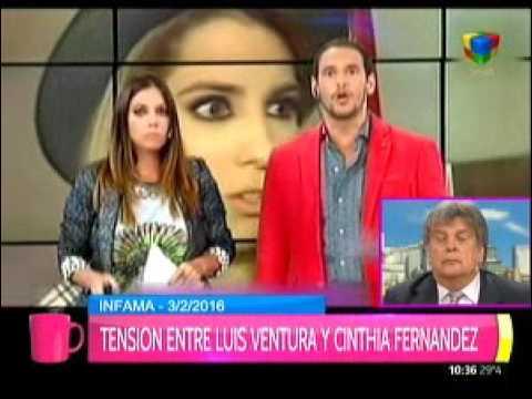 Luis Ventura argumentó por qué hizo esa pregunta sobre el caso Cinthia Fernández