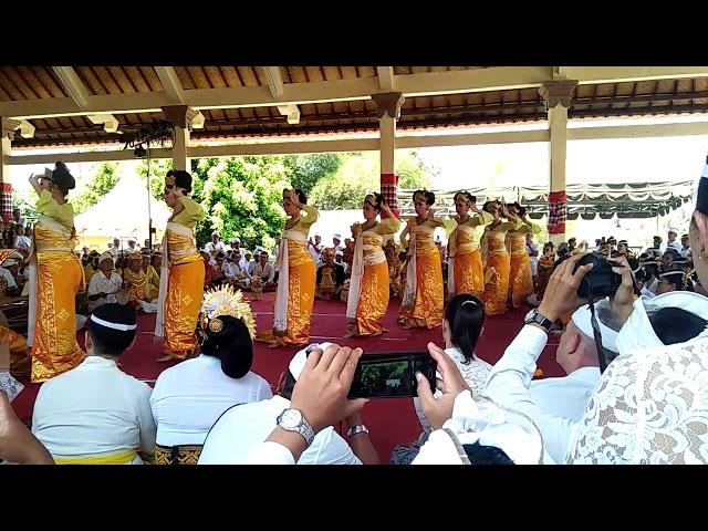 Balerung Satage Peliatan / Legong Sri Sedana