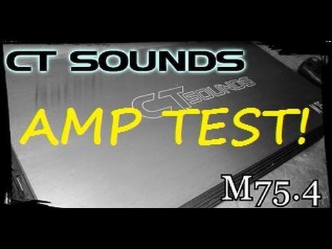 AMP TEST! - CT Sounds M75.4 Amp Dyno