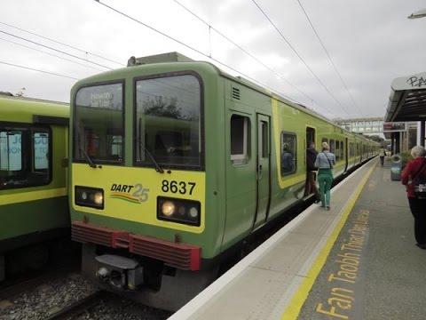 Irish Rail (IE) Dublin Area Rapid Transit DART September 2014