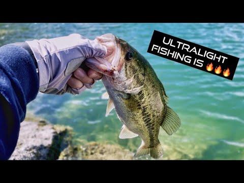 Ultralight Bass Fishing At Lake Berryessa