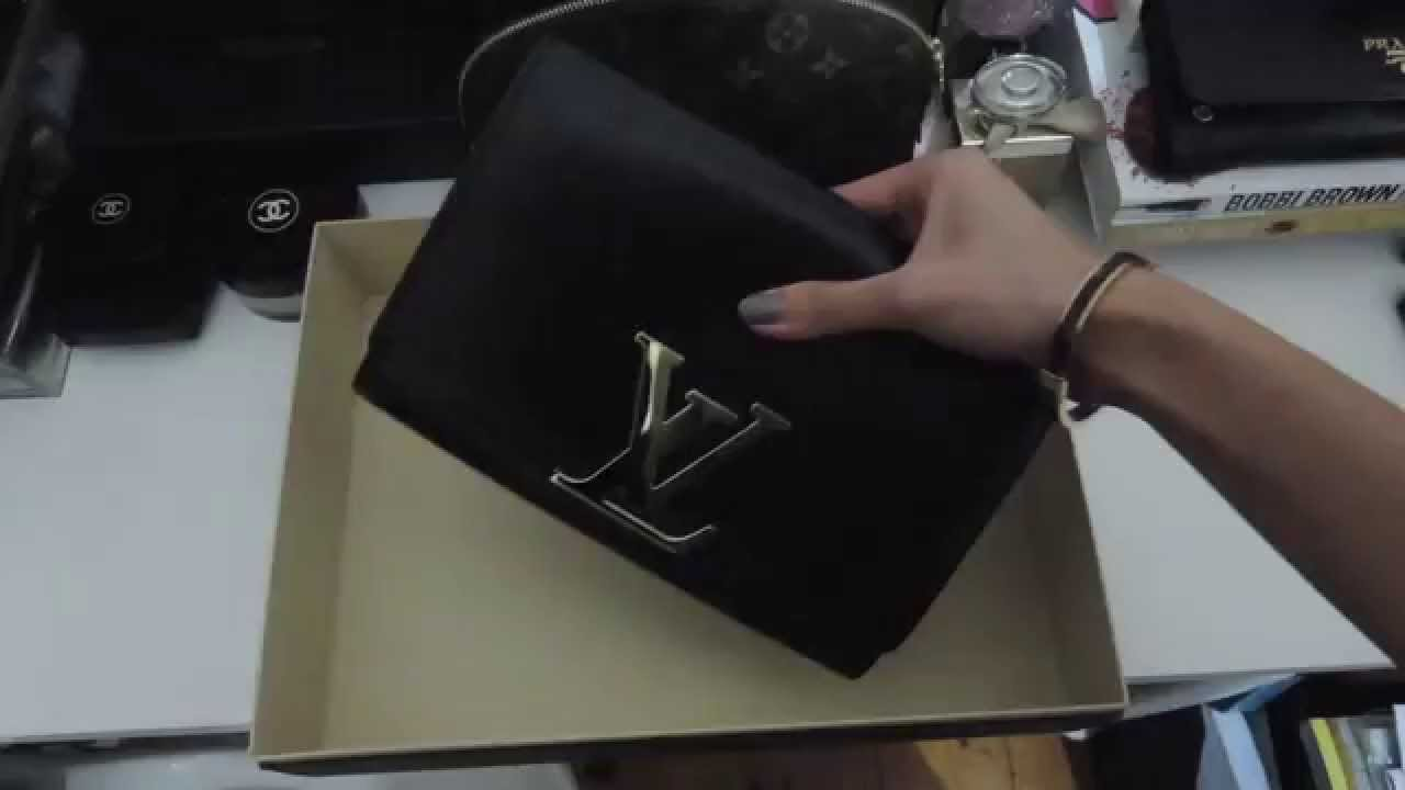 3386e0648623 Louis Vuitton  Unboxing Chain Louise Clutch - YouTube
