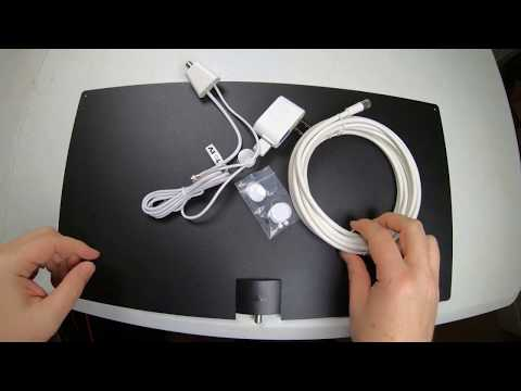 Mohu Leaf® Glide 65-Mile Range Indoor Amplified HDTV Antenna Review