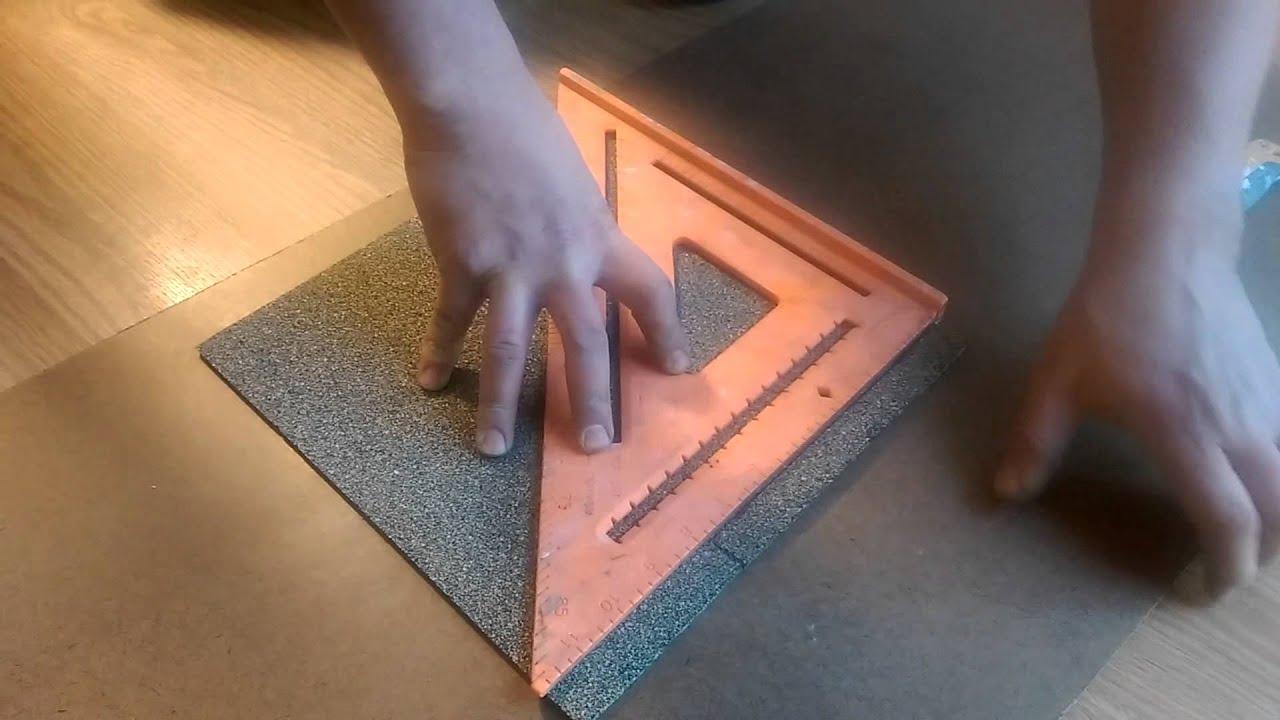 Cork tiles installation simple youtube cork tiles installation simple solutioingenieria Image collections