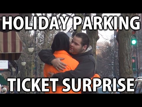 Holiday Parking Ticket Surprise