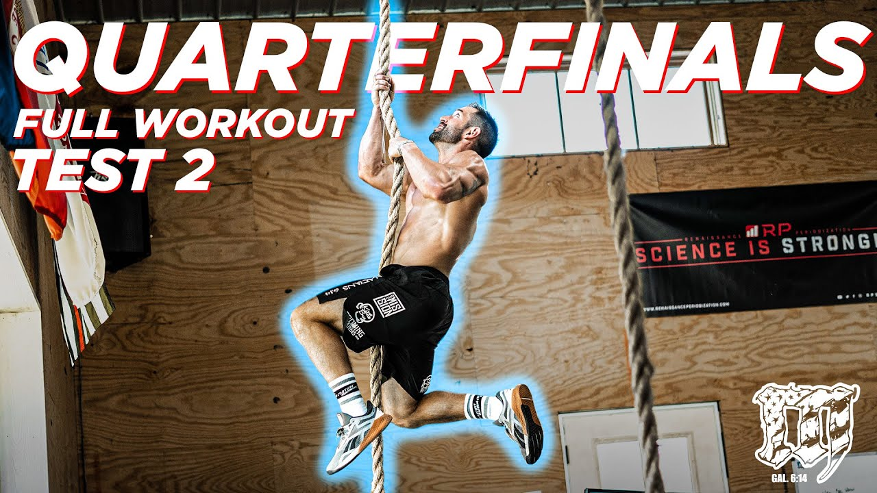Download RICH FRONING'S FULL TEST 2 // CrossFit Games Quarterfinals