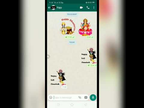 diwali stickers for whatsapp iphone