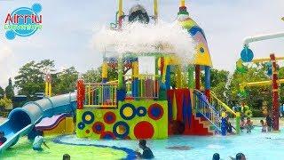 Liburan seru | Berenang dan Main Air di Transera Waterpark Kota Harapan Indah Bekasi