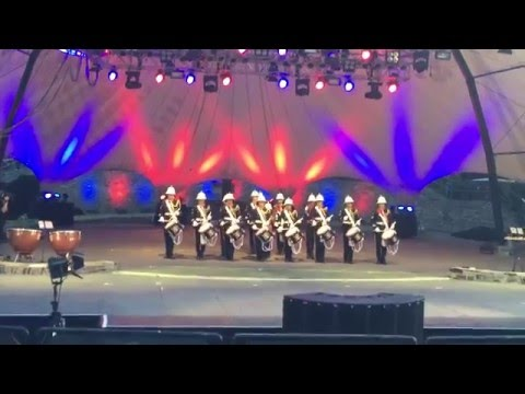 Loreley Tattoo 2015 RBL Band Romford Corps of Drums