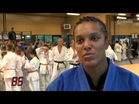 Julie Decosse au Judo Club Herbretais