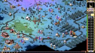 Red Alert 2 - Soviet Campaign - Red Revolution Walkthrough Gameplay