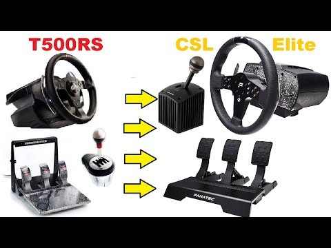Switching from T500rs to CSL Elite