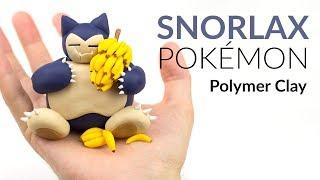 Snorlax (Pokemon) – Polymer Clay Tutorial