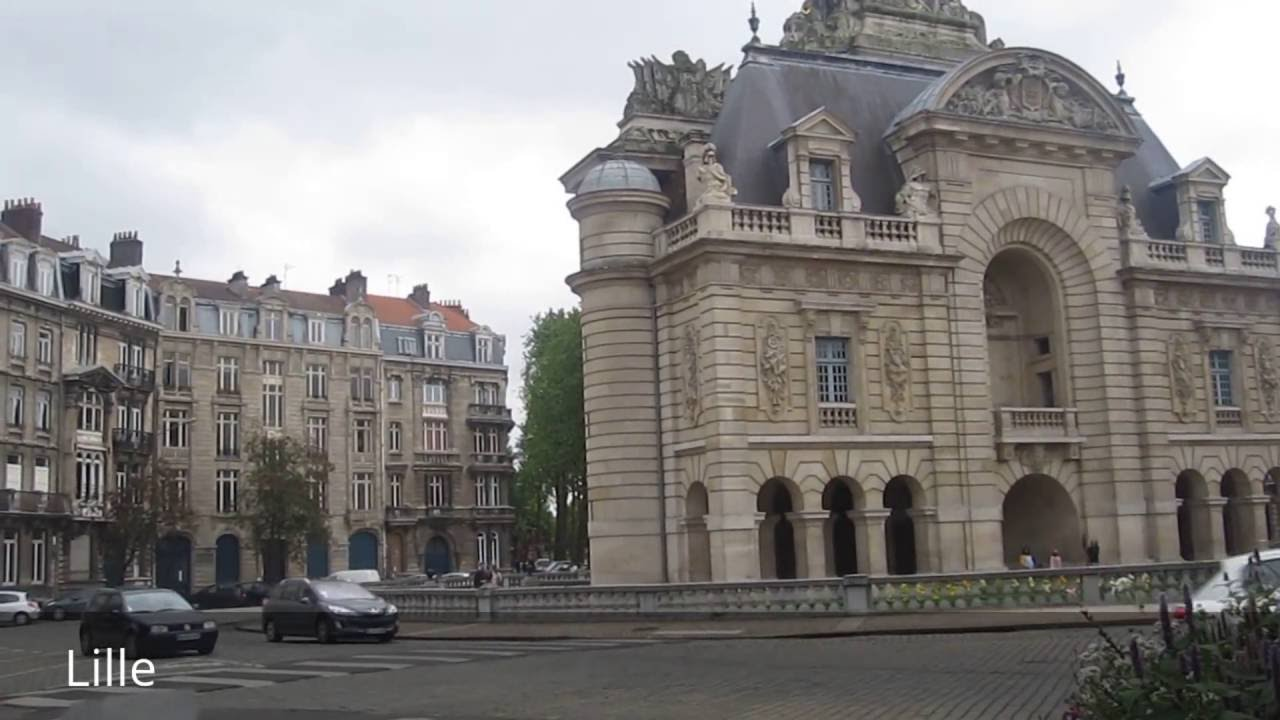 places to see in lille france youtube. Black Bedroom Furniture Sets. Home Design Ideas