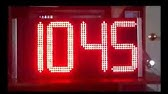 ESP8266 D1 mini - P10 - DMD2 - YouTube
