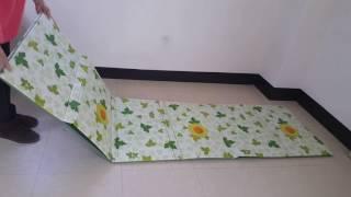 3단 캠핑매트 해바라기 매트 특대형(240×200) 접…