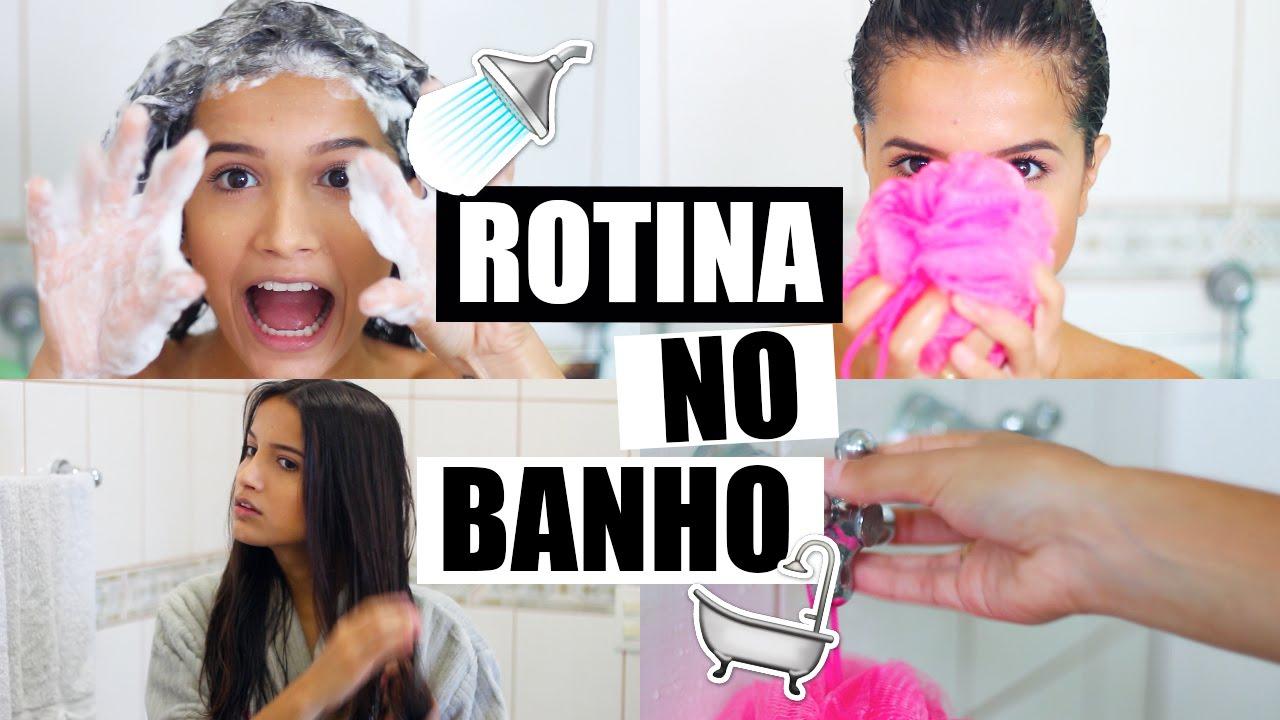 ROTINA DE BANHO | SHOWER WITH ME