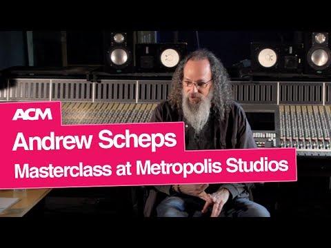 Andrew Scheps Masterclass at Metropolis Studios