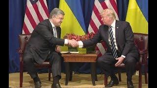 Trump To Visit Puerto Rico He Says In Meet With Ukrainian President Poroshenko