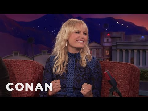 "Malin Akerman Got Booed At The ""Rampage"" Premiere  - CONAN on TBS"