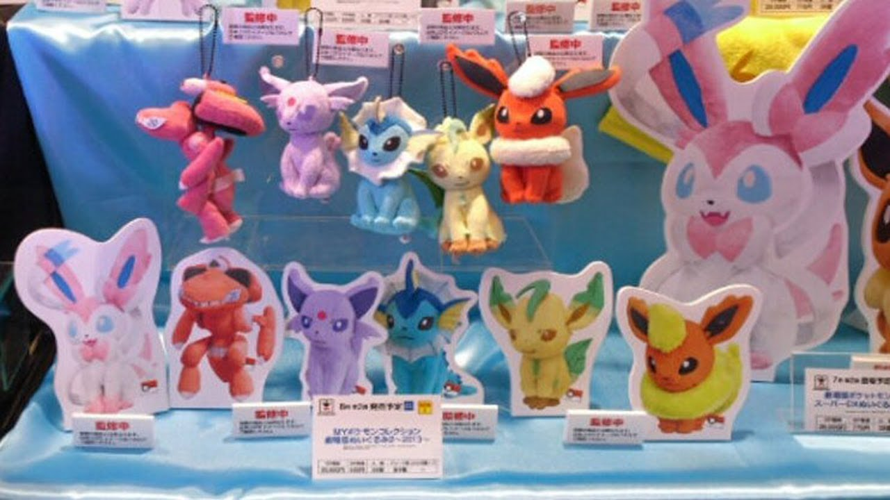 Merch Week in Review 5 Sylveon Plush Deoxys Pokedolls