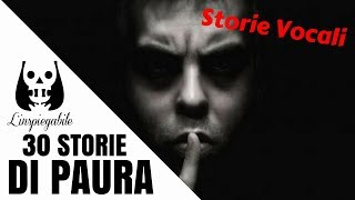 30 storie di terrore raccontate in due frasi - Storie Vocali 4