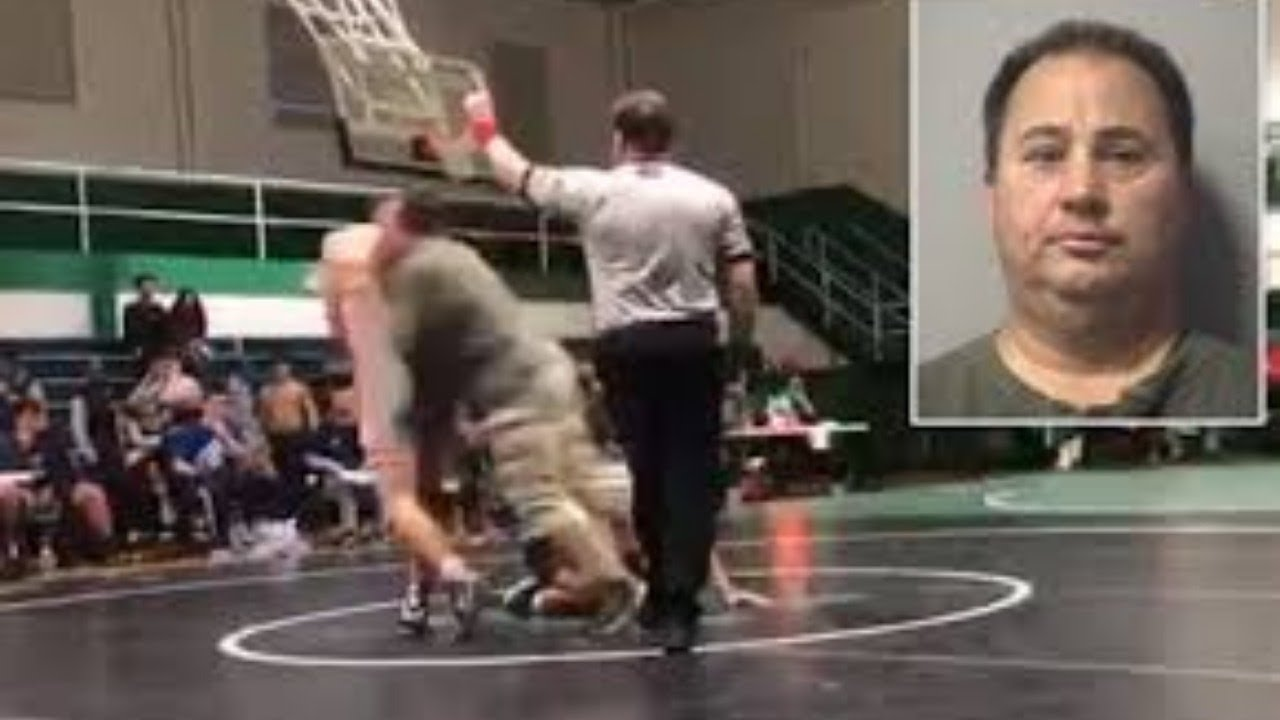 Dad Arrested For Jumping In Son's Wrestling Match!?  [VIDEO]
