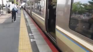 JR西日本 223系2000番台 普通 野洲行き 膳所駅 南草津駅  20190619