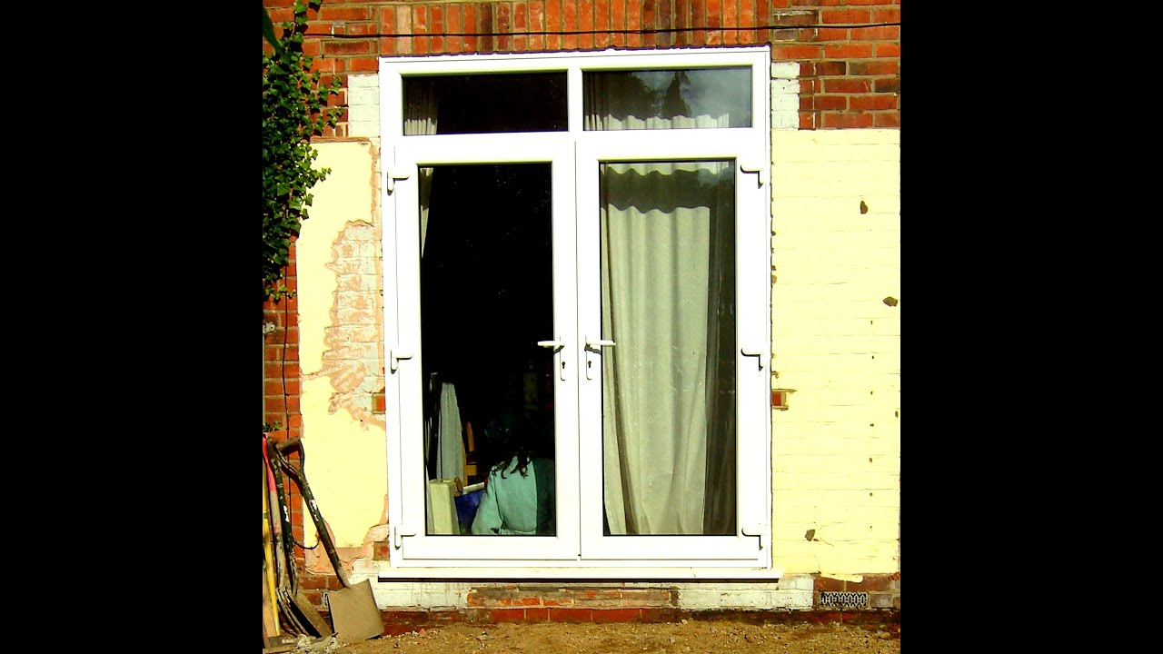 Used upvc patio doors for sale on ebay youtube for Patio windows for sale