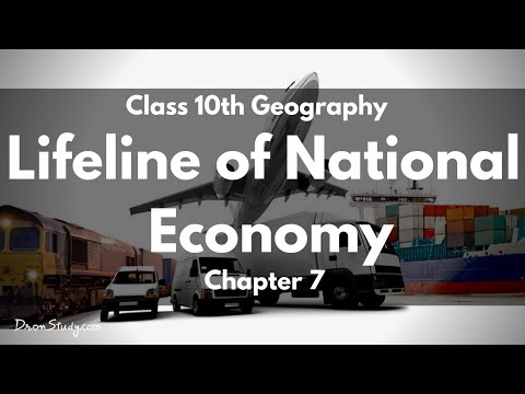 Class 10 Geo Lifeline of National Economy