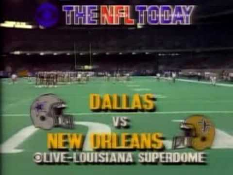 CBS NFL Today Open and Bump 1989