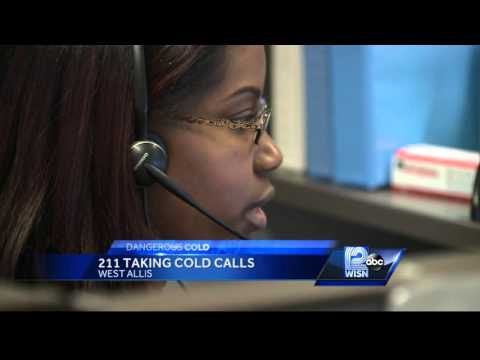Cold weather impacts 211 call center