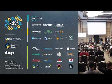 Image from PyCon Balkan Belgrade 2018 - LIVE STREAM