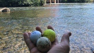 Golf Ball King!!!  River Treasure Hunting!!!