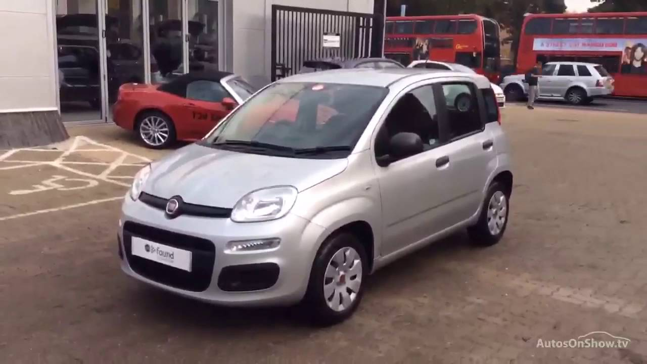 fiat panda pop aluminium silver 2016 youtube. Black Bedroom Furniture Sets. Home Design Ideas