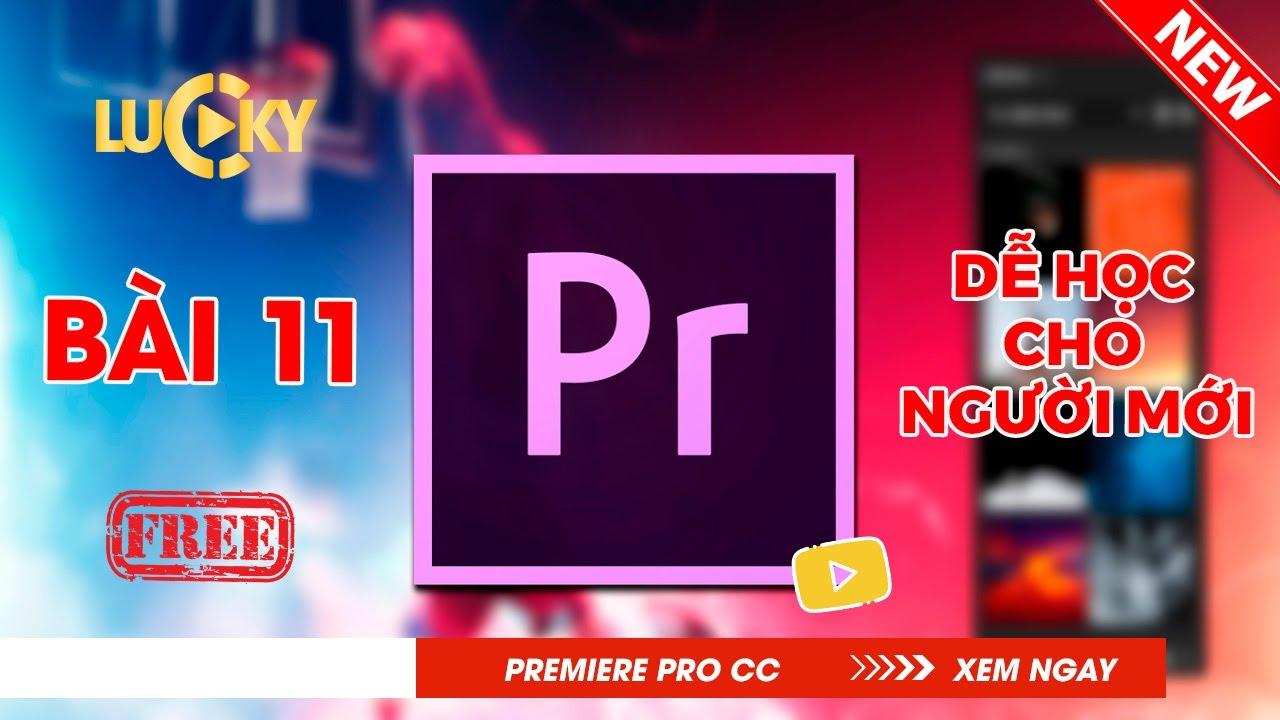 Bài 11: Cách xuất file ( export ) video chuẩn trong Adobe Premiere pro cc 2018