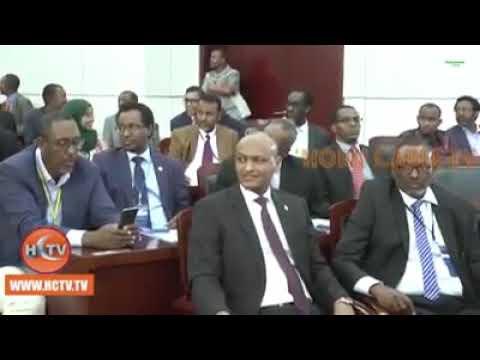 DJIBOUTI: Shirkii Soomaalidu kaga Hadlayeen Mawjadaha Isbedel ee Geeska Africa.