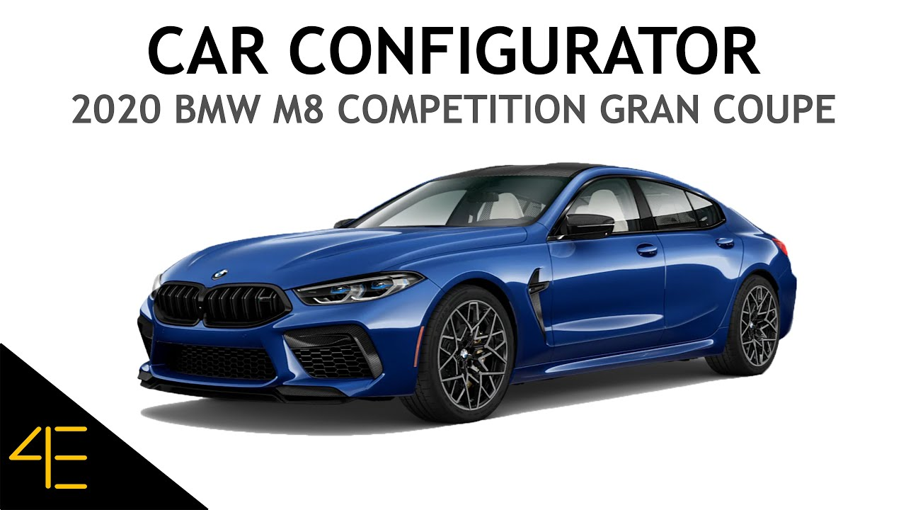 Bmw M8 Competition Gran Coupe Car Configurator Video Youtube
