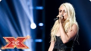 Can her original song Scars win a Chair for Kelsey Gill | Six Chair Challenge | The X Factor 2017